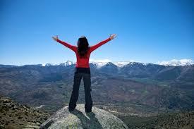 mountain top shout