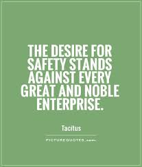 the desire for safety